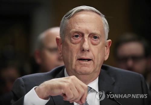 (LEAD) U.S. defense chief says N. Korea threatens global stability