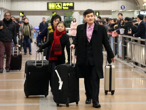 N.K. figure skaters arrive in Beijing ahead of Four Continents