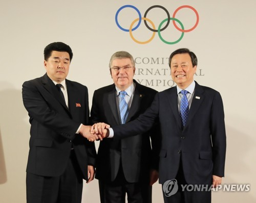 IOC meeting on N. Korea's participation in PyeongChang Olympics begins
