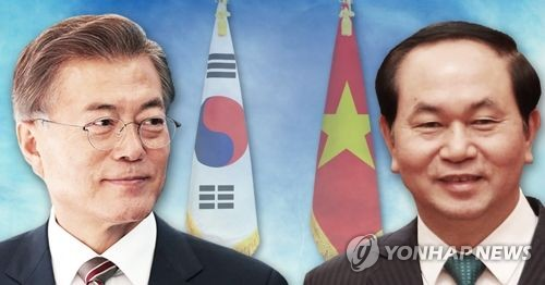 Leading businesspeople to accompany Moon to Vietnam, UAE tour: sources