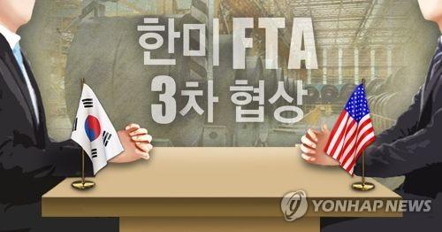 (LEAD) S. Korea, U.S. discuss steel tariff exemption, autos in FTA talks