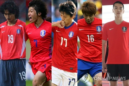 S. Korean footballers satisfied with new World Cup kit