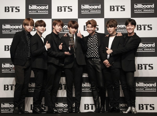 BTS nominated for Billboard Music Awards for second straight year