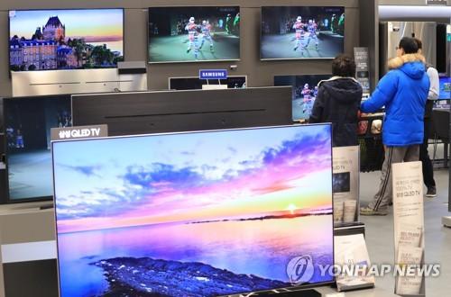 Demand for larger TVs growing in S. Korea