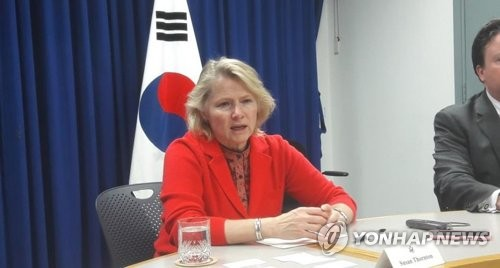 (LEAD) Thornton says U.S. will avoid protracted negotiation with N.K., urges more action to show sincerity