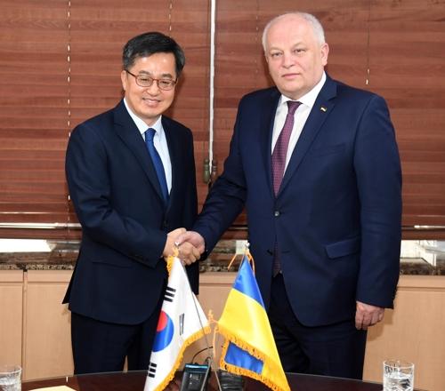 S. Korea, Ukraine agree to boost economic cooperation