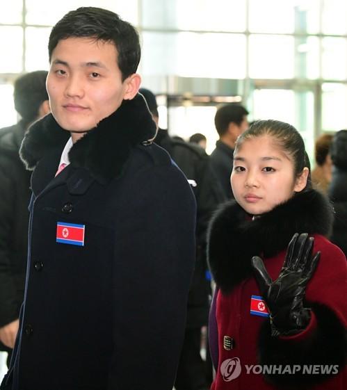 PyeongChang 2018 : les athlètes et supportrices du Nord rentrent chez eux