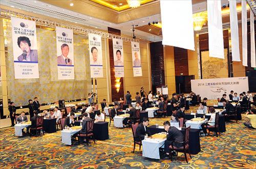 '세계바둑축제' 삼성화재배 본선, 8일 베이징서 개막
