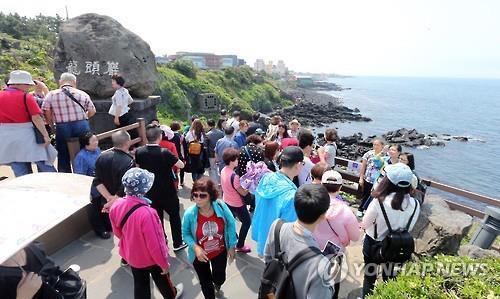 제주 연간 관광객 700만명 최단기간 돌파…15.5% 증가