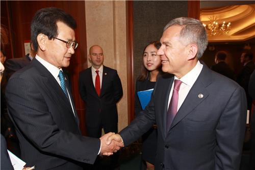 이시종 지사, 무예마스터십에 타타르스탄 대통령 초청