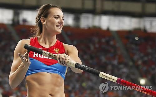 """'미녀새' 이신바예바 """"누구도 내 올림픽 출전권 지켜주지 않아"""""""