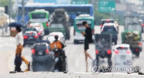 서울 오늘 체감온도 36.3도…27일까지 폭염특보 이어질듯