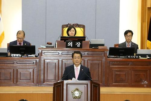 """""""의장이 일방 처리"""" 울산남구의회 예산안 의결 논란"""