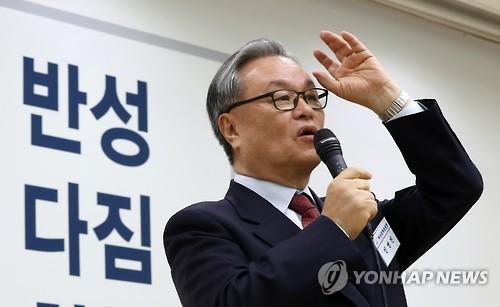 與심장부서 '친박청산' 외친 인명진…텃밭 다지기로 쇄신 가속