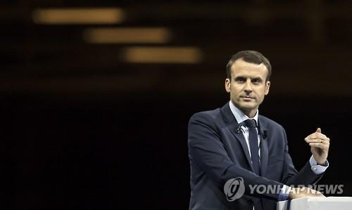 프랑스 대선 '다크호스' 마크롱, 총선 후보 온라인 모집
