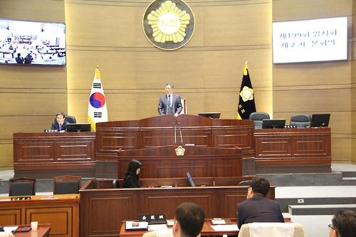천안시의회 새 부의장에 안상국 의원 선출