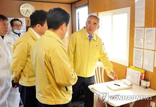 [동정] 이성호 안전처 차관, 경기도·평택시 구제역 방역 점검