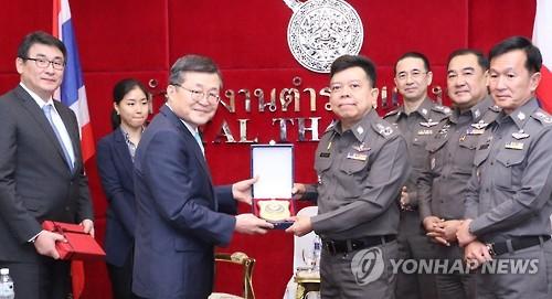 [동정] 경찰청 차장, 태국경찰청과 고위급 회담