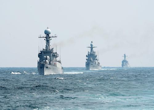 해군 3함대, 동·남해서 해상기동훈련