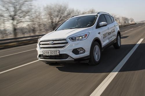 [시승기] 티구안 빈자리 노린다…유럽감성 SUV '뉴 쿠가'