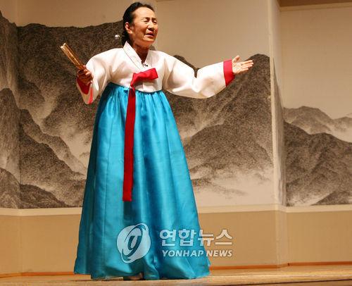 '최고령 판소리꾼' 인간문화재 박송희 명창 별세…향년 90세(종합)