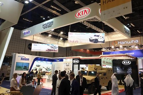 현대로템, UAE 방산 전시회서 중동시장 공략
