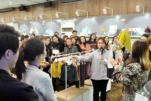 한세드림, 2017 가을·겨울 중국 수주회 개최