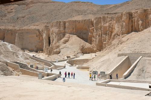 """이집트 '왕들의 계곡', """" 국지호우시 침수 우려"""""""