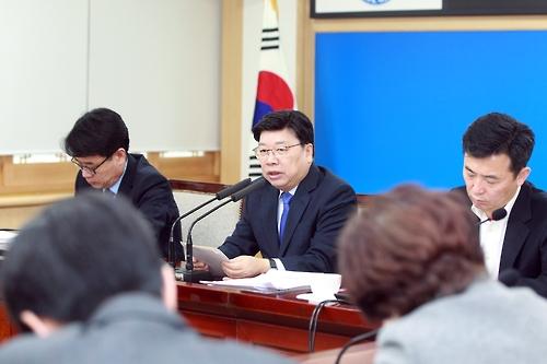 """권선택 대전시장 """"경제성 중심 예비타당성 조사방식 바꿔야""""(종합)"""