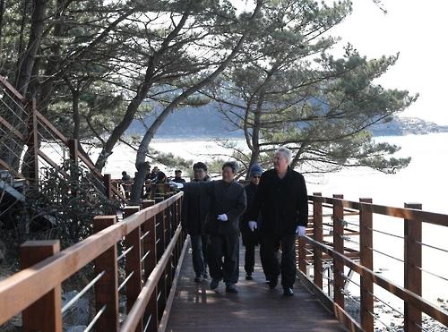 '숲·바다 한길로'…천리포수목원 '다 함께 나눔길' 개통