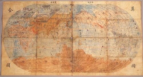 17세기 세계지도, 20여년째 행방불명…보물 문화재 5점 도난