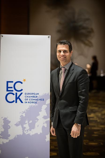 주한유럽상의 회장에 실라키스 벤츠코리아 대표