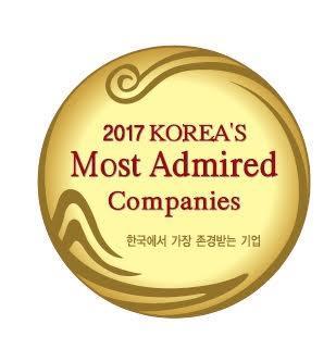 아모레퍼시픽, '올해 한국서 가장 존경받는 기업'에 선정