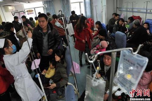중국 2016년도 전염병 사망자 총 1만8천여 명