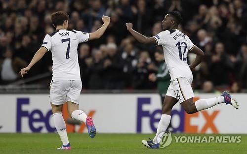 '손흥민 35분' 토트넘, 유로파리그 32강 탈락