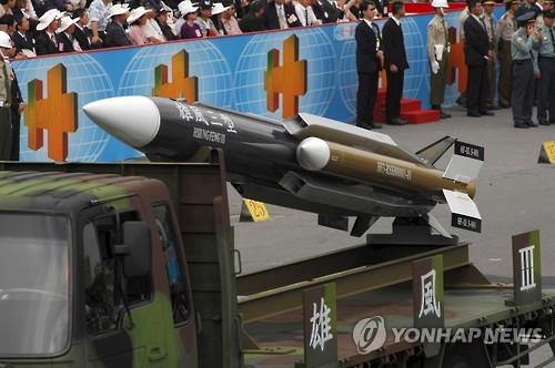 中 로켓군 위협에 대만, 방공미사일지휘부 승격…전력 증강