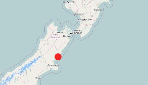 뉴질랜드 남섬서 규모 5.2 지진, 피해는 없어