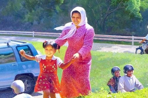 北-말레이 '은밀한 우호 관계' 상징 '쌀 박물관의 벽화'