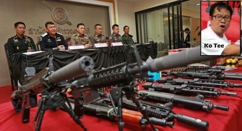 태국 '레드셔츠' 지도자 집에서 소총 등 군용 무기 쏟아져