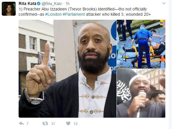 """""""英의사당 테러범, 이슬람 설교자…테러사범으로 복역"""""""