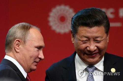 시진핑의 공산당-푸틴의 통합러시아, 정당채널도 '밀월'