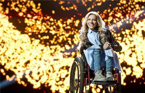 '휠체어 가수' 러시아 대표, 유로비전 참가 사실상 무산