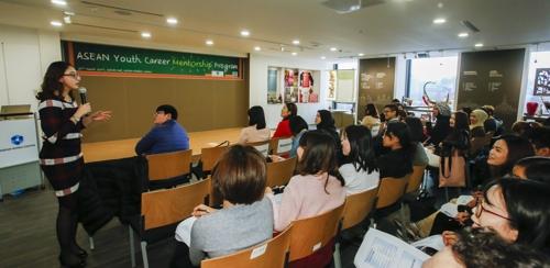 """""""한국 기업의 인재될 수 있을까요?"""" 외국인 유학생 '취업 열공'"""
