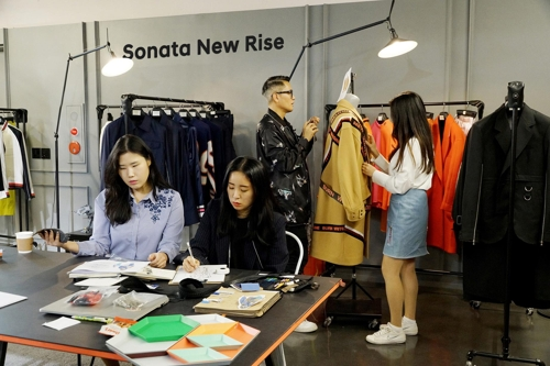 '쏘나타 뉴 라이즈 룩' 서울패션위크서 선보인다