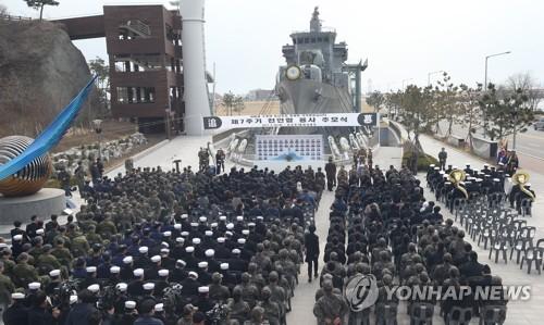 野주자, 천안함 7주기 '안보행보'…文安安, 대전현충원 참배