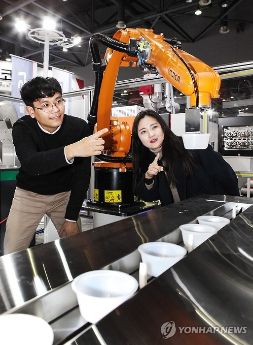 외국 로봇 가득찬 美 공장…개발능력 유럽·일본에 뒤져