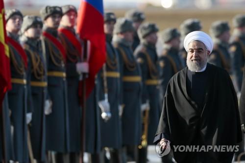 """이란 대통령 """"러시아와 우호 증진은 중동 안정 기여"""""""