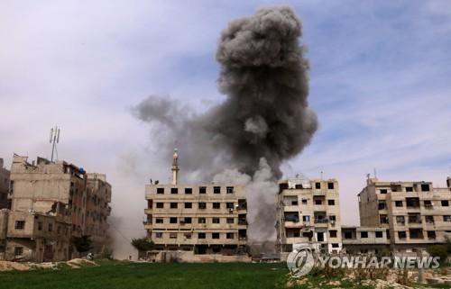 화학무기 공격받은 시리아 구타 지역 의료 상황 악화