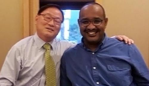 '한국 연수' 아프리카 의사, 국내 의료진과 공동논문 발표