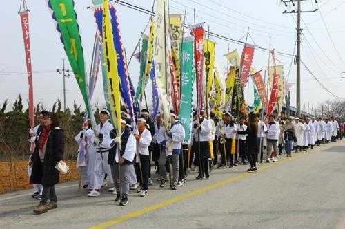 '동학 농민군의 함성'…정읍서 '고부 봉기' 재현
